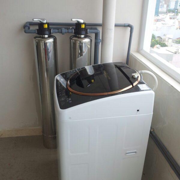 Lọc nước cho máy giặt